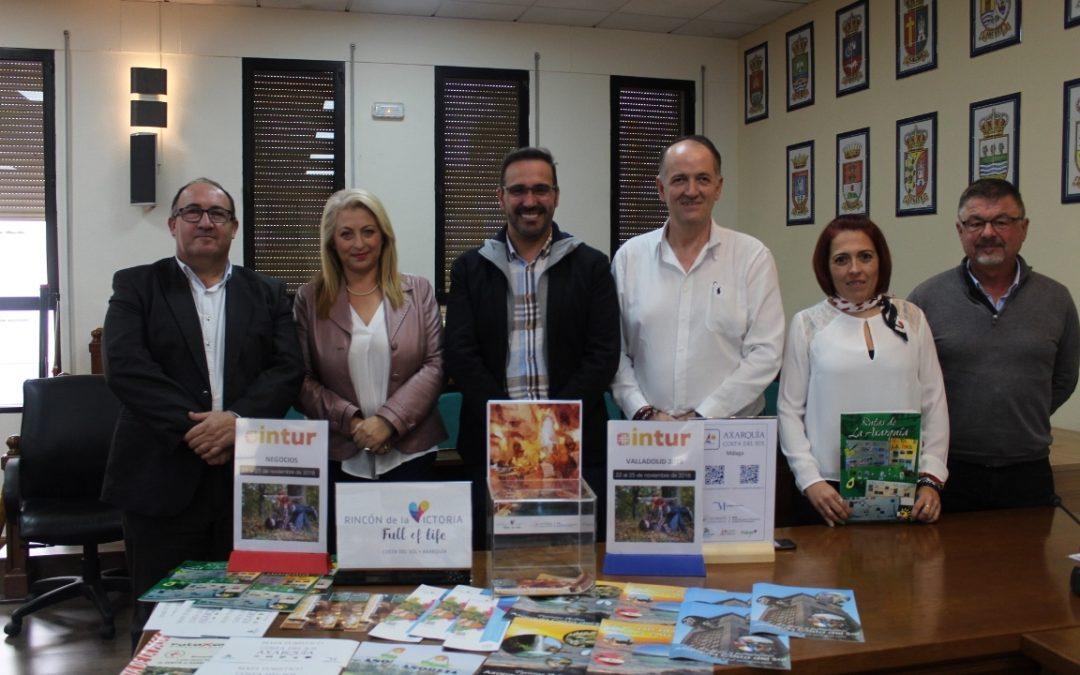 Rincón de la Victoria estará presente en la Feria de Turismo de Valladolid (INTUR) donde sorteará estancias y visitas a La Cueva del Tesoro