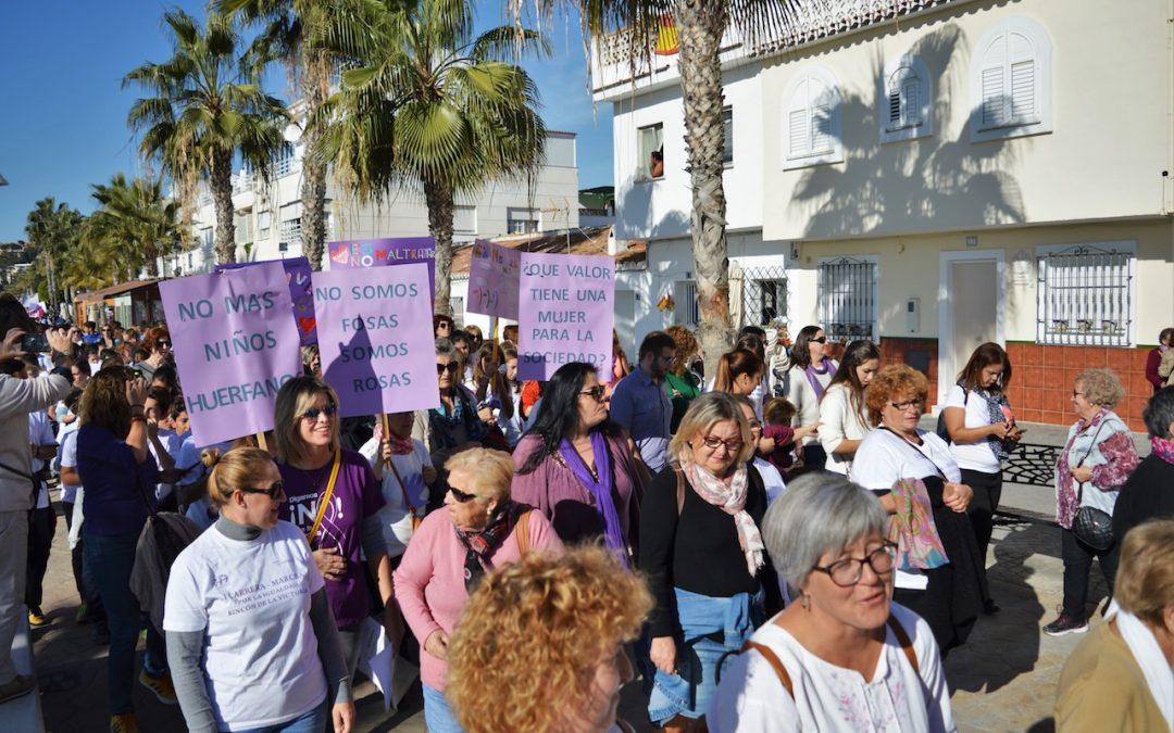 Rincón de la Victoria organiza una marcha pacífica por el Día Internacional contra la Violencia de Género