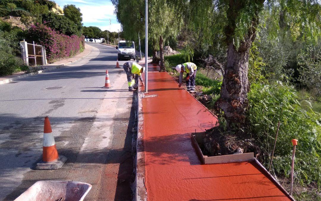 La Concejalía de Infraestructuras adjudica las obras de asfaltado de cerca de diez calles en la Urbanización Añoreta de una inversión de 206.923,99 euros