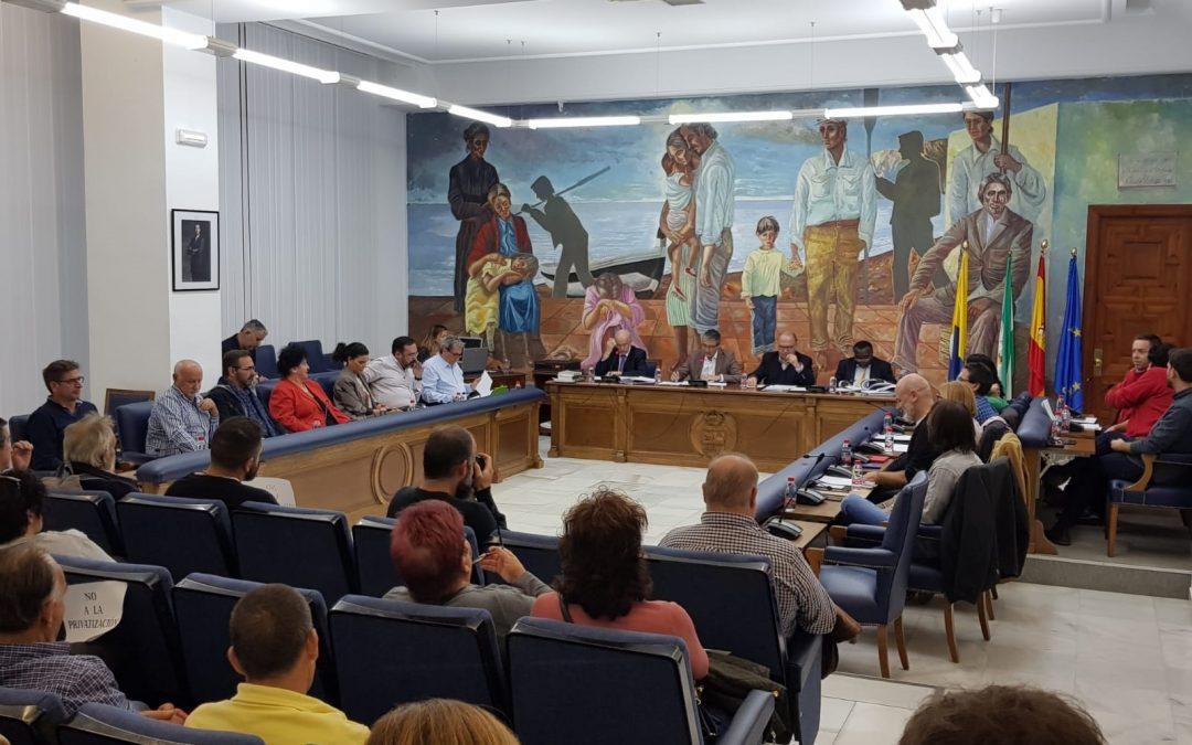 El Pleno de Rincón de la Victoria aprueba licitar el mantenimiento de las zonas verdes públicas para mejorar el servicio en el municipio
