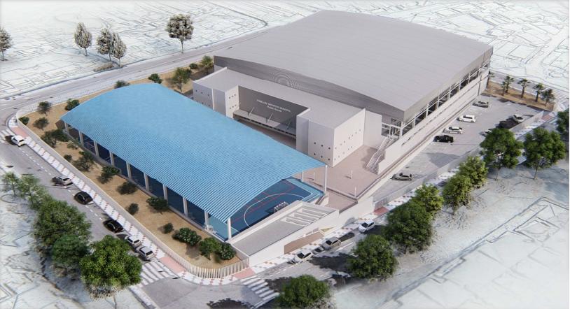 Licitado el proyecto de construcción de pistas deportivas cubiertas en el recinto del Pabellón Municipal de Torre de Benagalbón