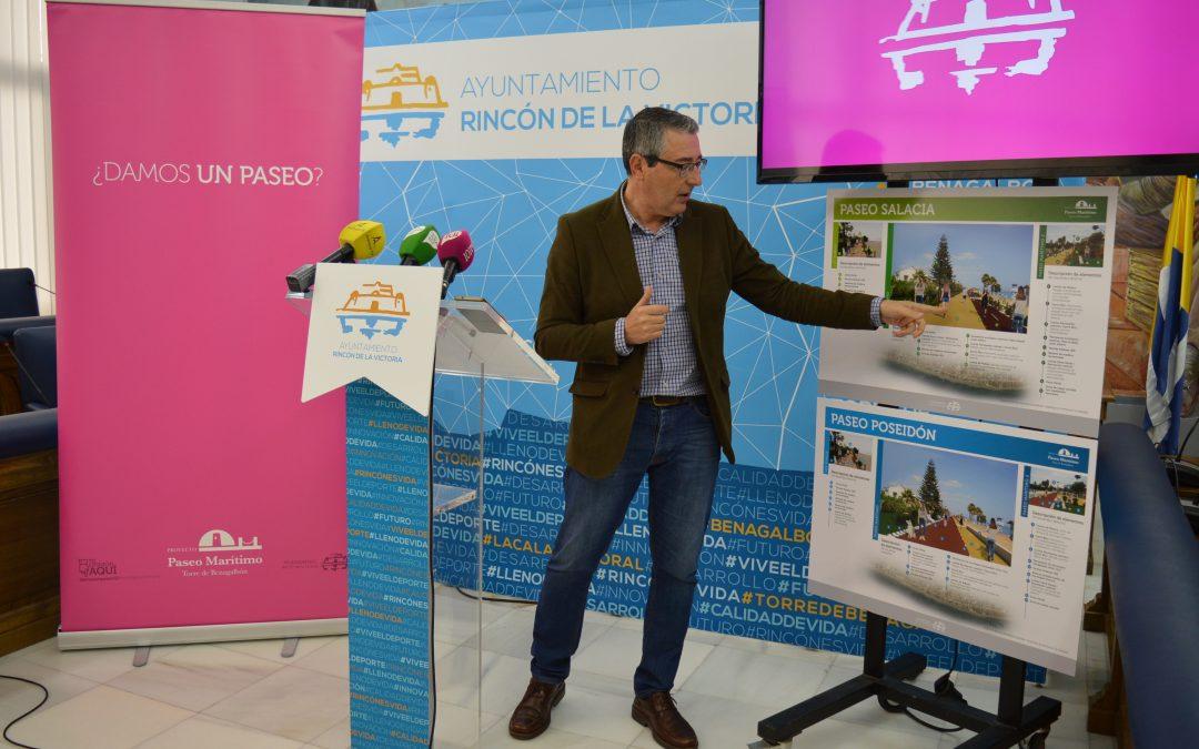 El Ayuntamiento inicia el próximo martes el proceso de votación para elegir el modelo del nuevo Paseo Marítimo de Torre de Benagalbón