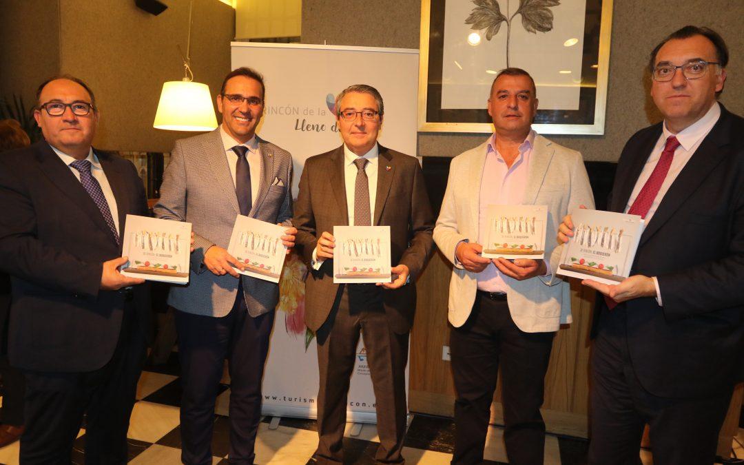 Rincón de la Victoria presenta en Madrid el primer recetario que recoge más de una veintena de platos con el boquerón como protagonista