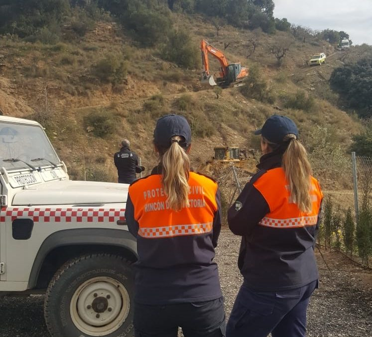 El Ayuntamiento reconoce la labor del operativo de rescate de Julen con mención especial a los voluntarios de Protección Civil de Rincón de la Victoria