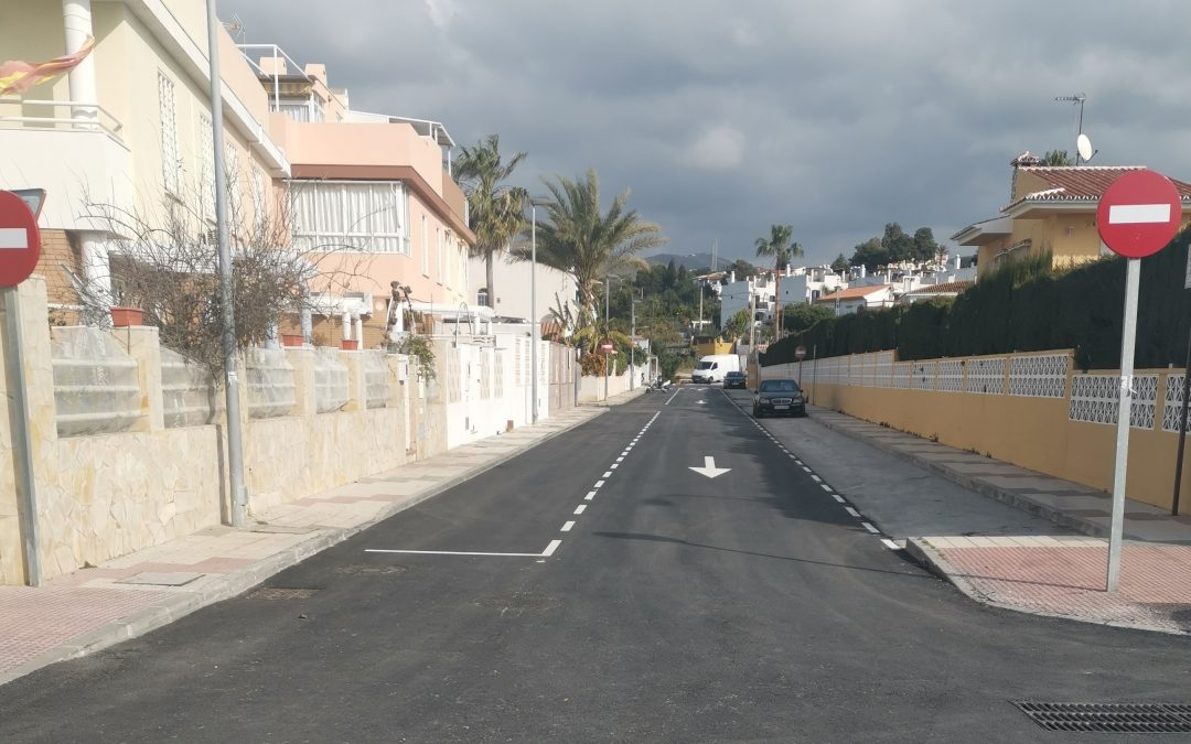 En fase de finalización las obras de asfaltado de varios tramos de avenidas y calles del municipio tras una inversión de 127.563,06 euros