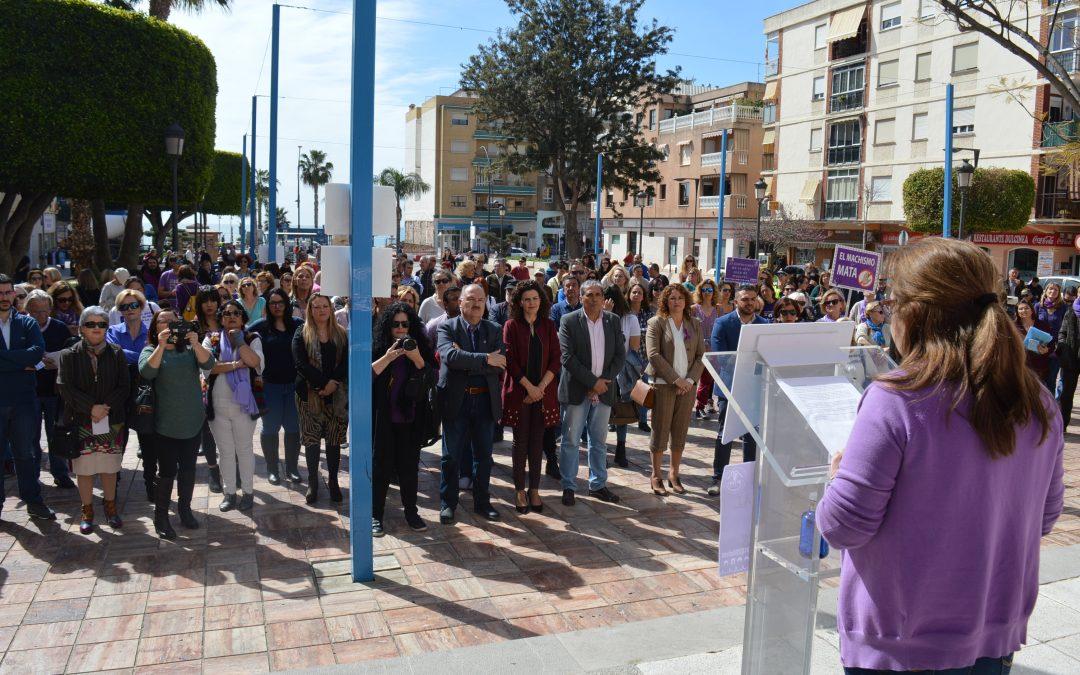 Rincón de la Victoria se suma a los actos conmemorativos del Día Internacional de la Mujer para reivindicar una igualdad real entre mujeres y hombres
