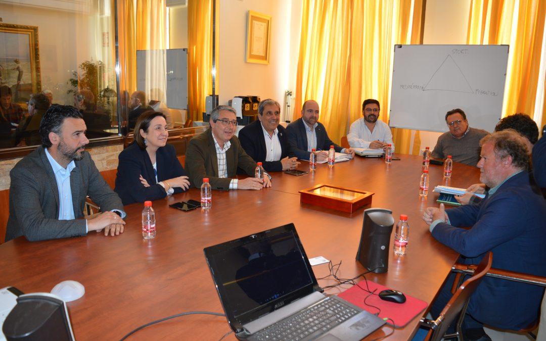 El alcalde de Rincón de la Victoria se reúne con la viceconsejera de Desarrollo Sostenible