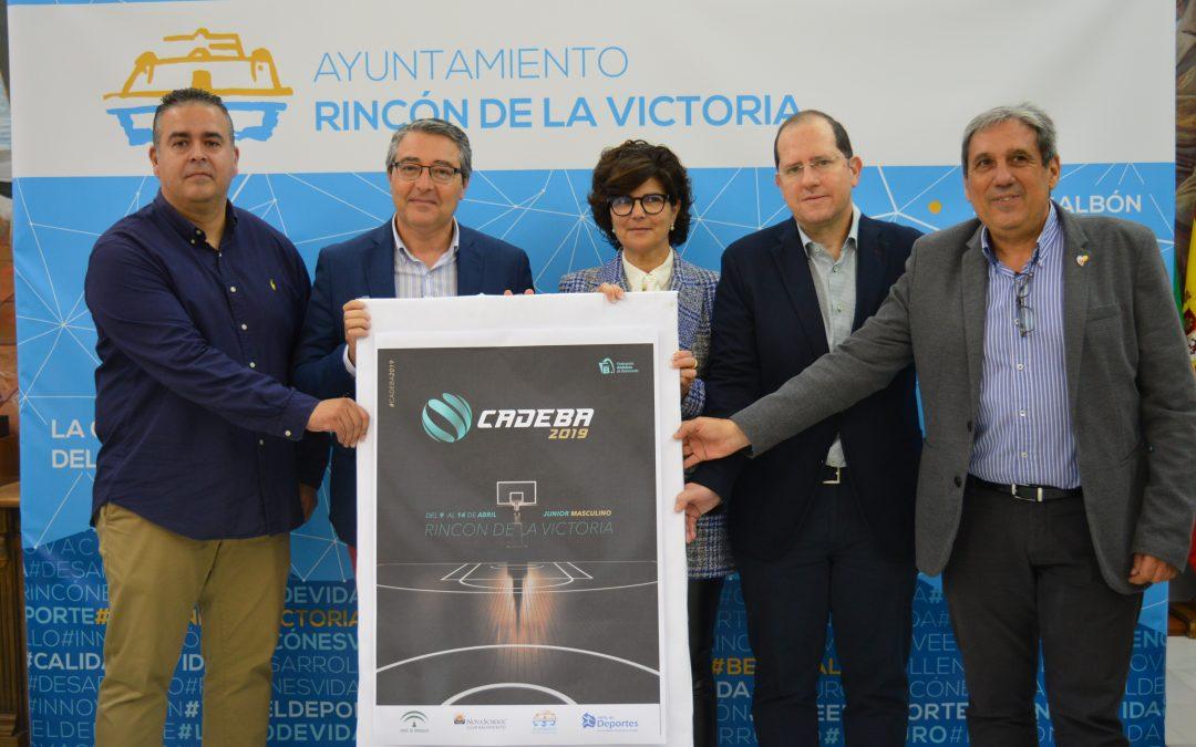 Rincón de la Victoria reúne a los 16 mejores equipos de Andalucía en el Campeonato Andaluz de Clubes Junior de Baloncesto