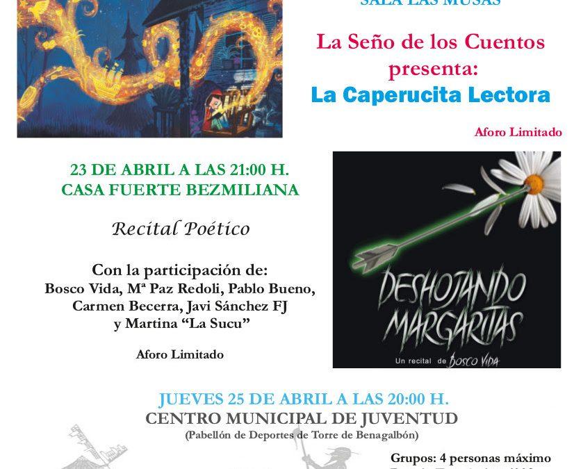 Rincón de la Victoria celebra el Día Internacional del Libro con diversas actividades distribuidas por el municipio para incentivar a la lectura