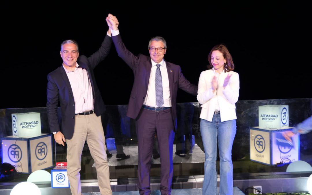 Francis Salado presenta su candidatura con la gestión en Rincón de la Victoria como aval