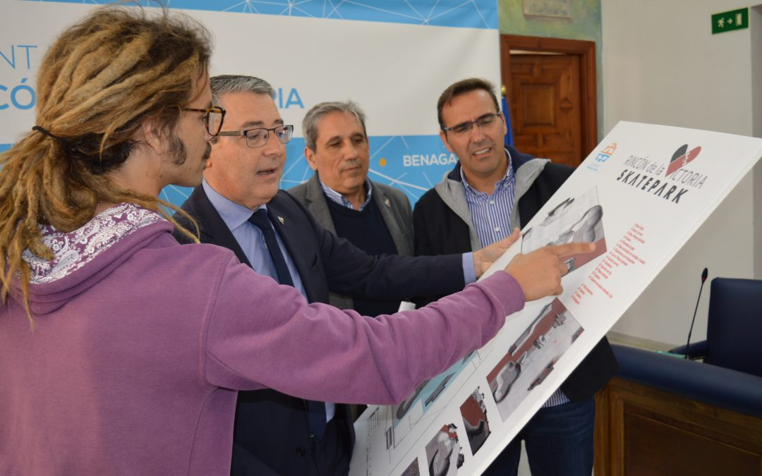 El Ayuntamiento de Rincón de la Victoria licita el proyecto de construcción del nuevo Skatepark que tendrá una extensión de 1.120 metros cuadrados