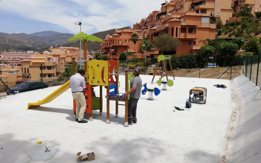 El Ayuntamiento de Rincón de la Victoria inicia esta semana la renovación del Parque Infantil de Calle Picadero en La Cala del Moral
