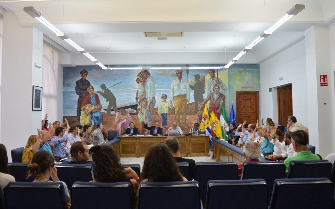 """El nuevo Equipo de Gobierno de Rincón de la Victoria arranca la nueva Legislatura con un """"Pleno de consenso"""""""