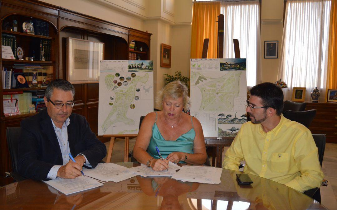 Rincón de la Victoria contará con un Parque Temático de Dinosaurios y Tirolinas, único en Andalucía