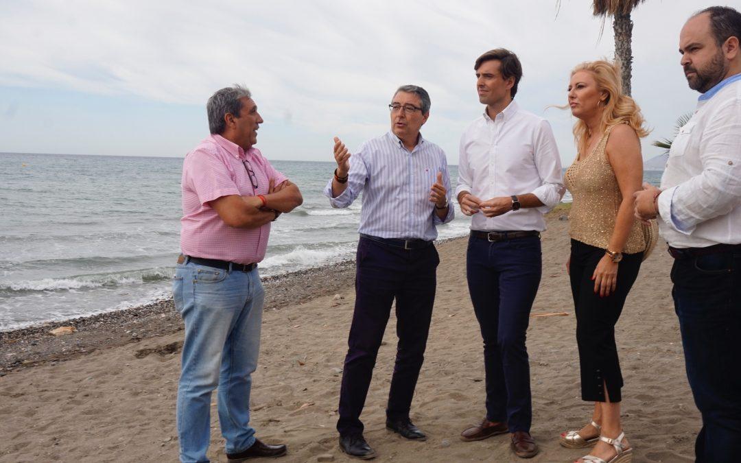 El PP pide al Gobierno fecha y hora para buscar una solución a la estabilización de las playas