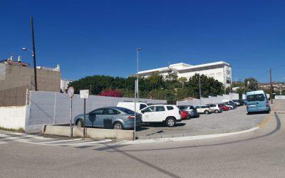 El Ayuntamiento de Rincón de la Victoria ejecutará las obras de pavimentación y señalización de la zona de estacionamiento ubicado en el acceso del cruce Camino Viejo de Vélez al CEIP La Marina