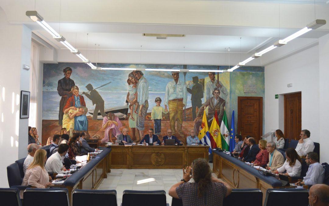 El Pleno de Rincón de la Victoria aprueba iniciar la actualización del Reglamento de la Agrupación Local de Protección Civil para ajustarse al nuevo Reglamento General