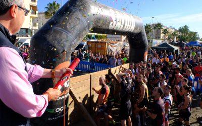 Rincón de la Victoria celebra el I Desafío de Guerreros con la participación de 1.200 personas y una gran repercusión turística con miles de personas siguiendo las pruebas