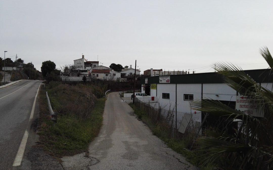El Ayuntamiento de Rincón de la Victoria redacta el proyecto de instalación de alumbrado público en el carril Lo Federico